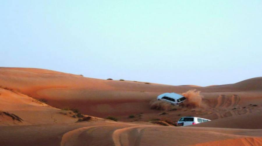 Dune nashing nel deserto