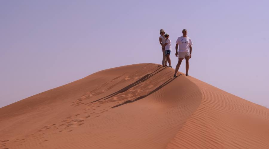 Sulle dune di Wahiba