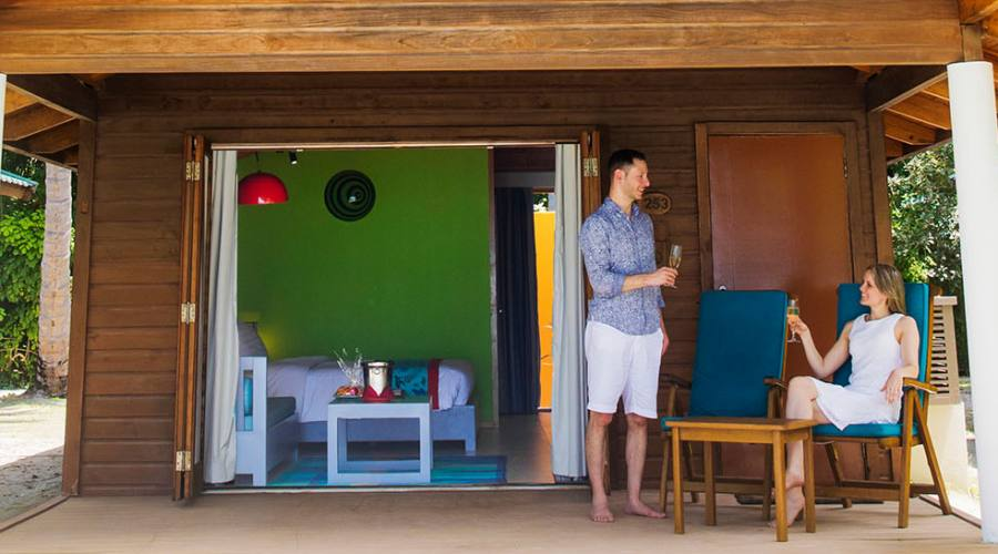 Esterno beach villa