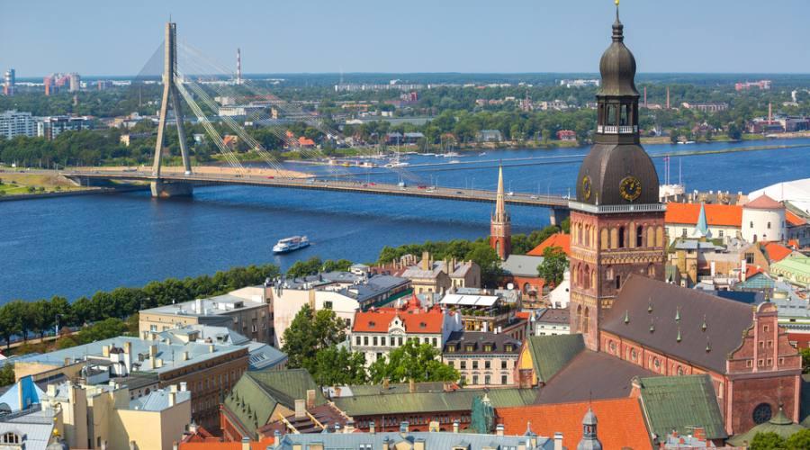 Vista di Riga