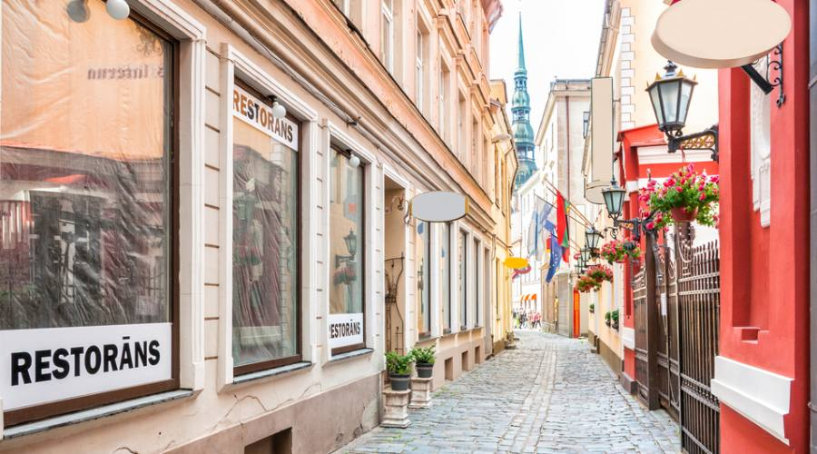 Strada città vecchia