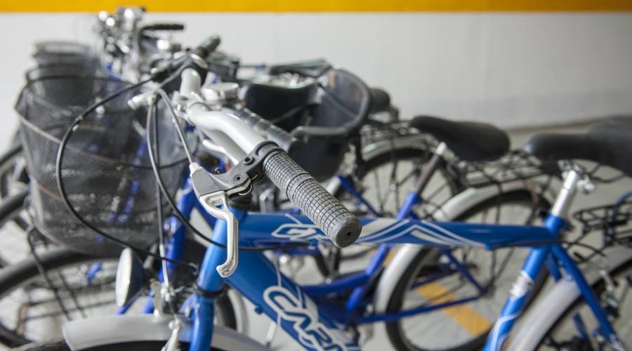 Biciclette fornite dall'hotel