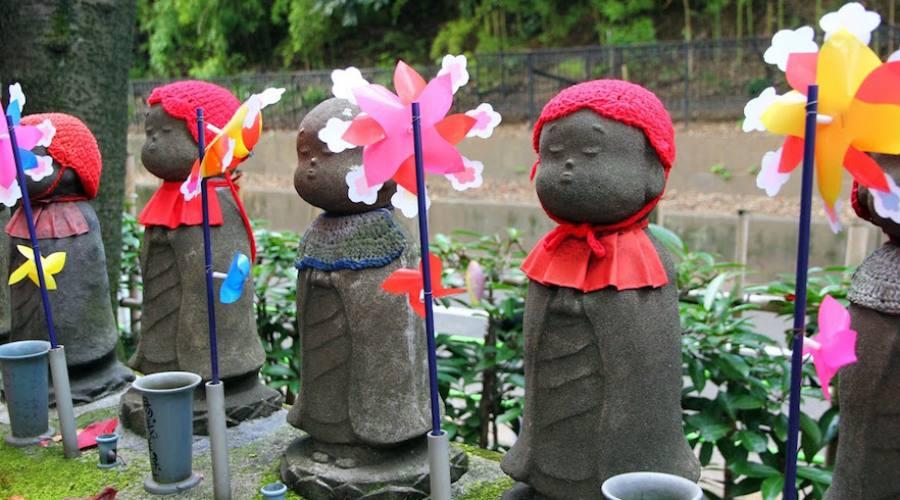 Kyoto - Statue Jizu