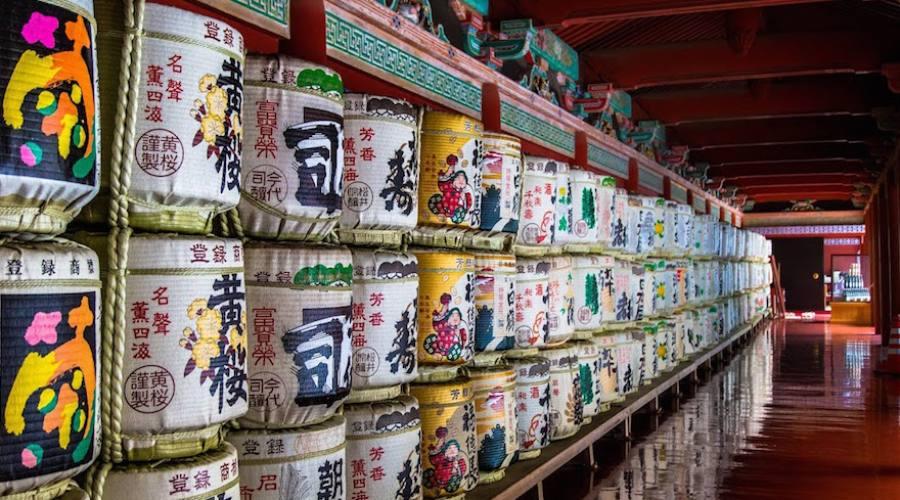 Kyoto - Offerte, Barili di Sakè