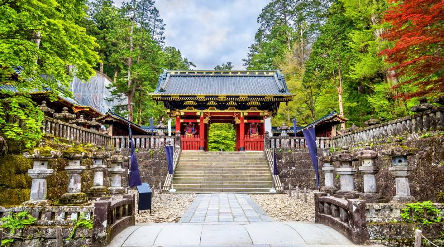 Il Santuario Futarasan a Nikko