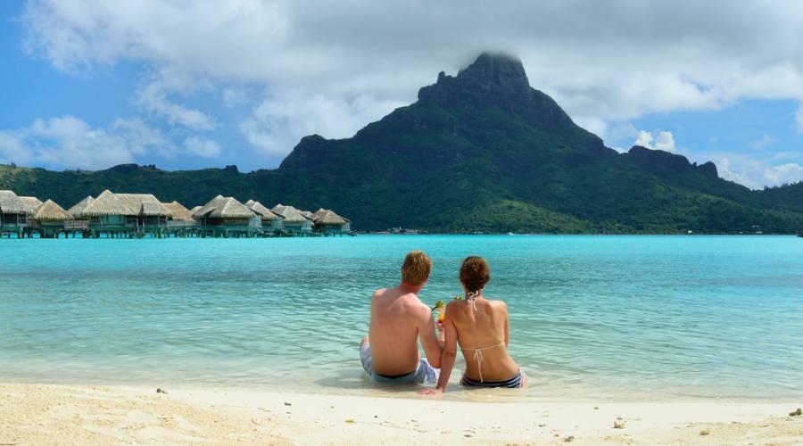 Che ne dite del panorama a Bora Bora?