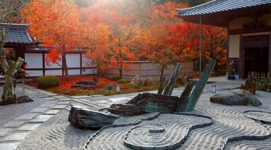 Giardino zen giapponese