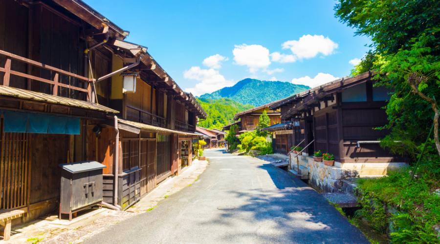 Tsumago - Via cittadina