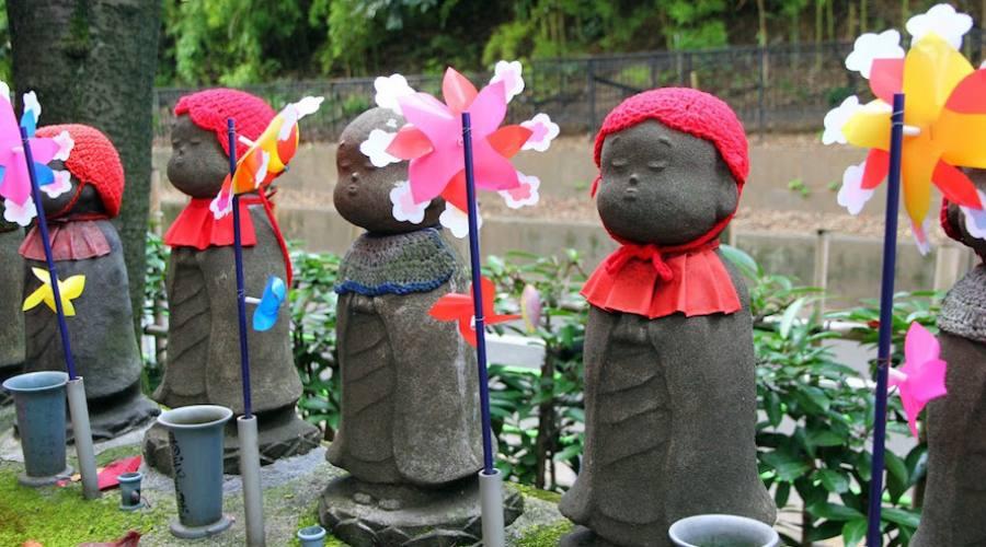 Kyoto - Statue Jizo