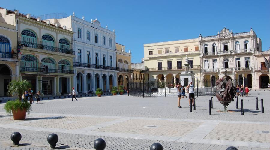 Piazza dell'Avana vecchia