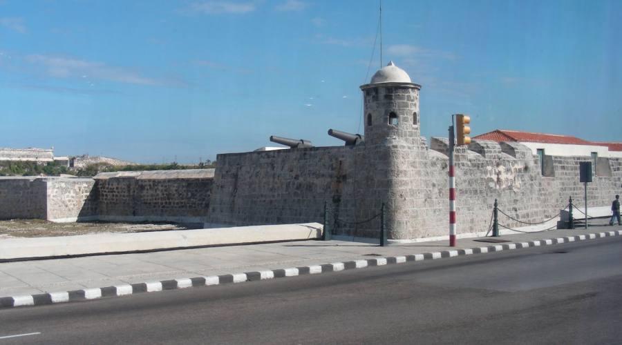 Castillo sul malecòn dell'Avana