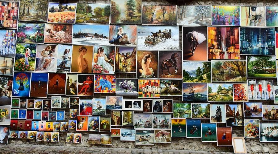 Cracovia, artisti di strada