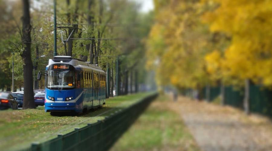 Cracovia, il tram