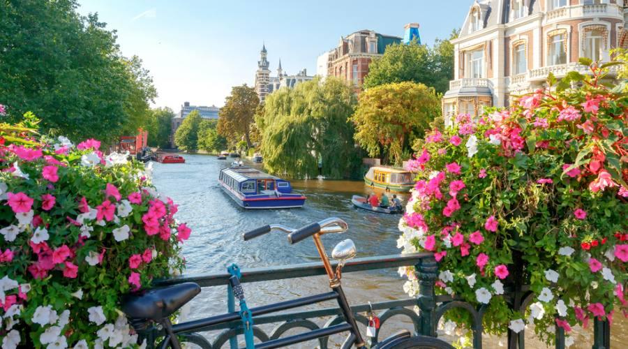 Amsterdam , il centro storico