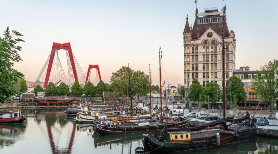 Rotterdam, il vecchio porto