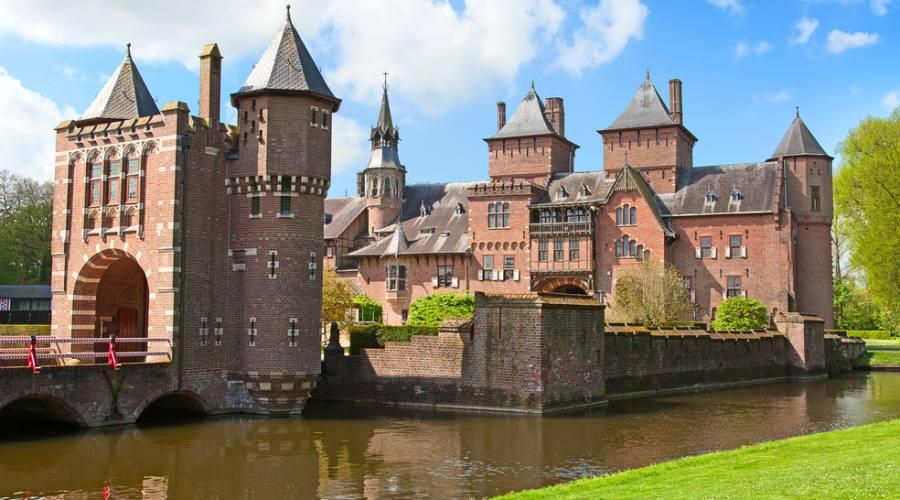 Utrecht, l'antico castello De Haar
