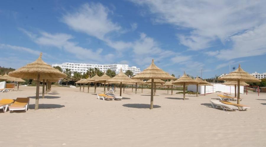 La magnifica spiaggia...