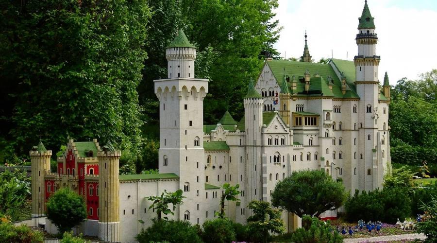 Castello a Legoland