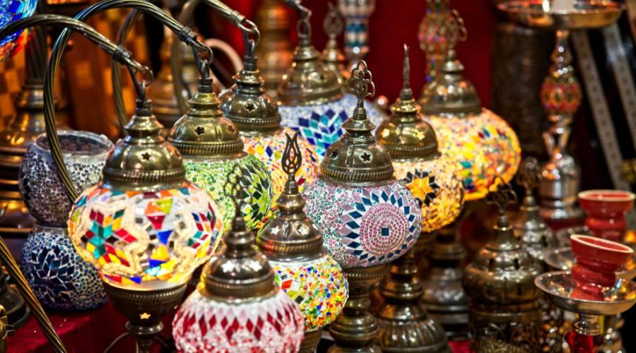 Oggetti in vendita al souq