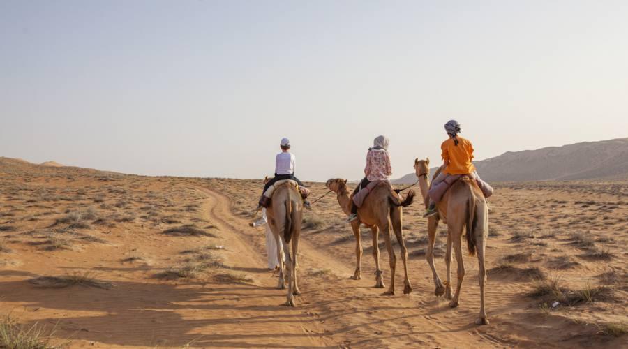 Camminata nel deserto di Wahiba