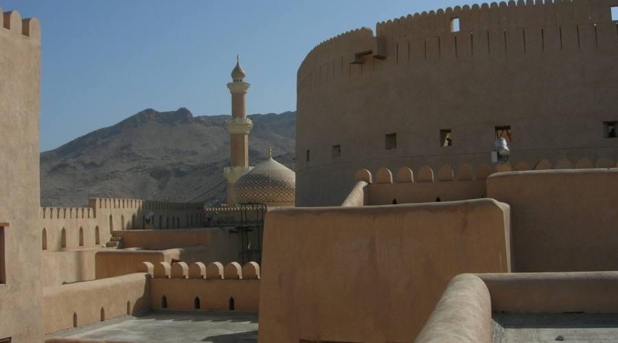 Nizwa- Forte e Moschea