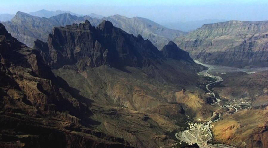 Le montagne dell'Hajar