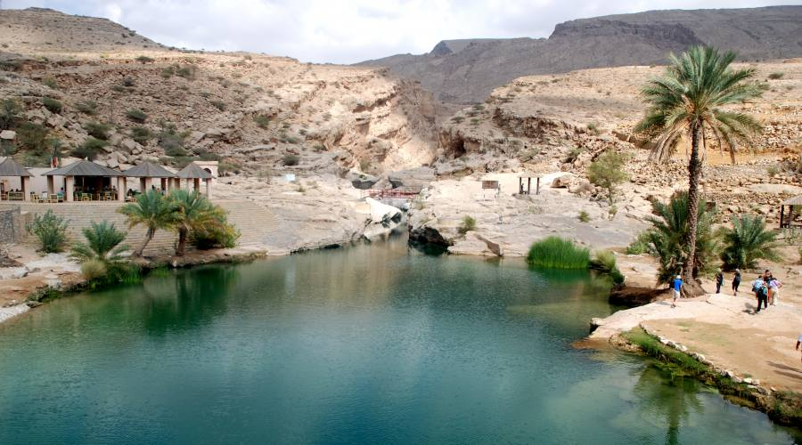 Wadi Bani Khalid -oasi