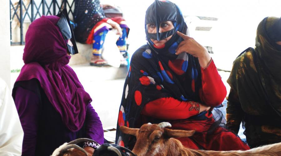 Sinaw- donne con la maschera