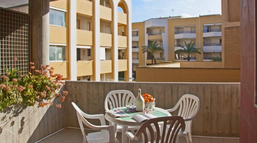esempio balcone dell'appartamento