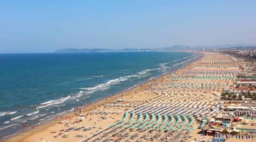 Vista sulla Costa Adriatica