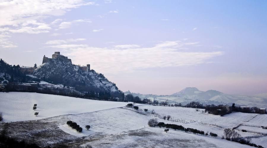 Verucchio: entroterra invernale (30 min d'auto)