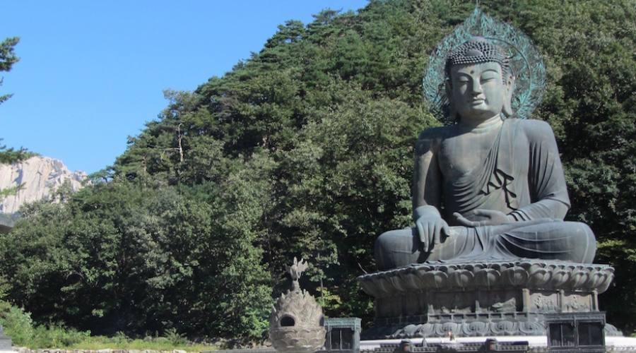 Seorak-san - Grande Buddha