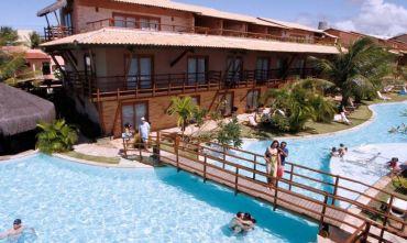 Villaggio sul mare: Praia Bonita Resort 4 stelle sulla spiaggia di Camurupim.