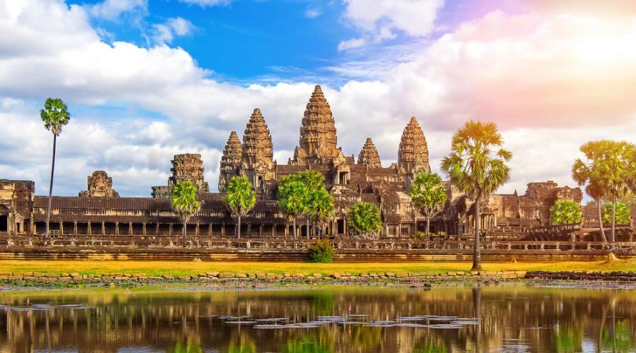 Vista su Angkor Wat