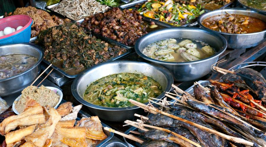 Un assaggio di specialita' cambogiane