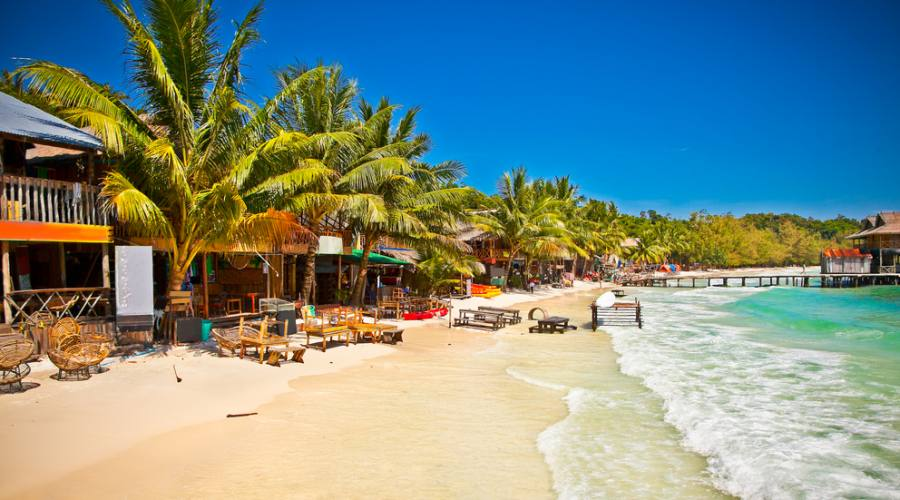 Koh Rong, una delle possibili estensioni al mare