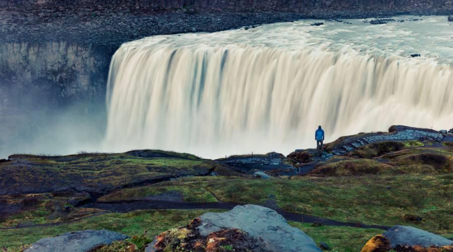 La cascata Dettifoss
