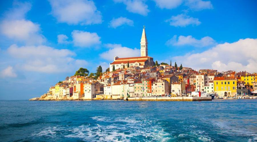 Panoramica della città vecchia