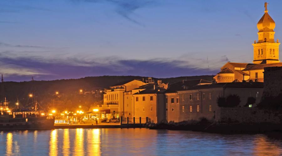 Riviera di Silo - panoramica notturna
