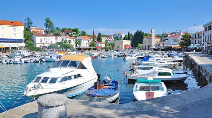 Riviera di Malinska - il porto