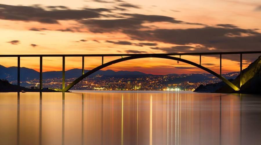 Il ponte per l'isola di Krk