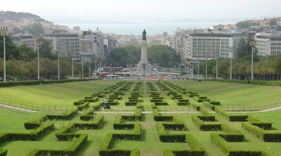 Parco pubblico a Lisbona - Il parco Eduardo VII