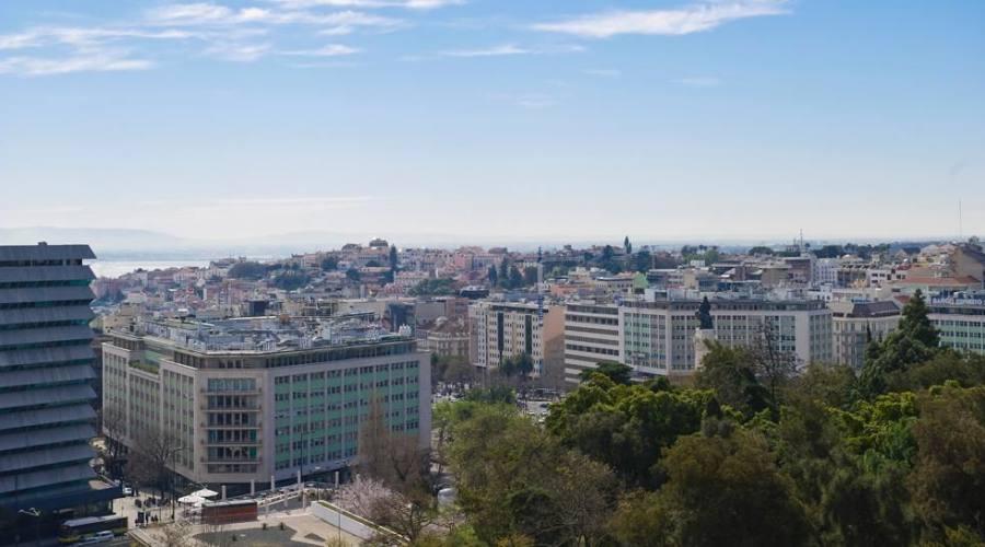Vista della città