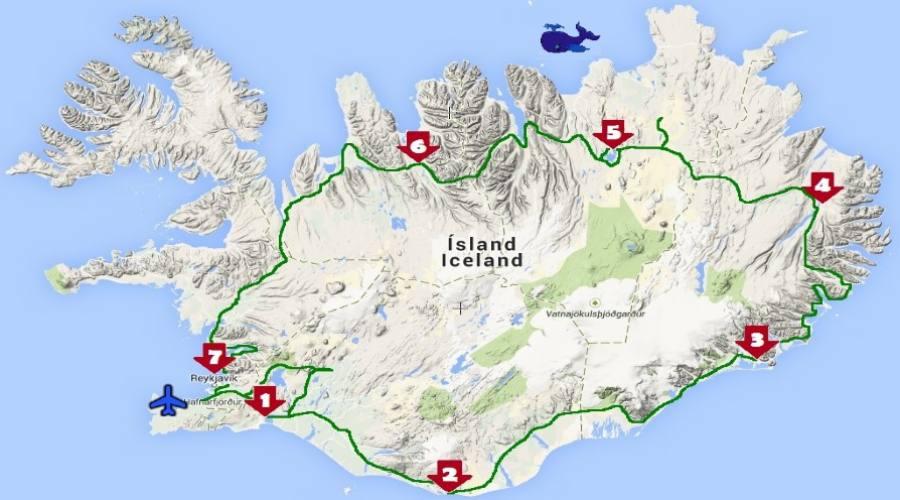 Itinerario Islanda 7 notti