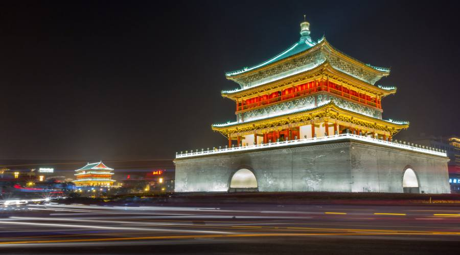Xi'An Torre della campana