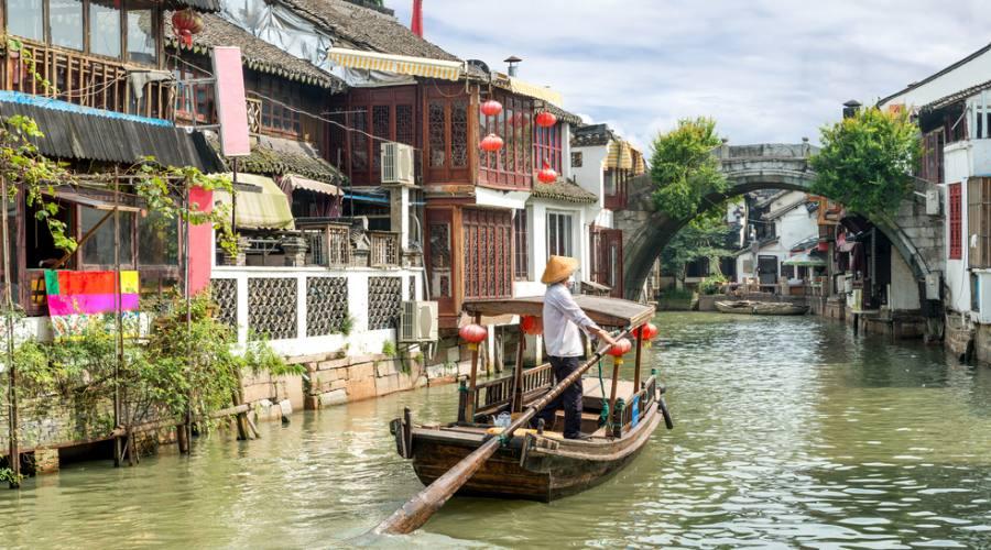 Shanghai Villaggio sull'acqua