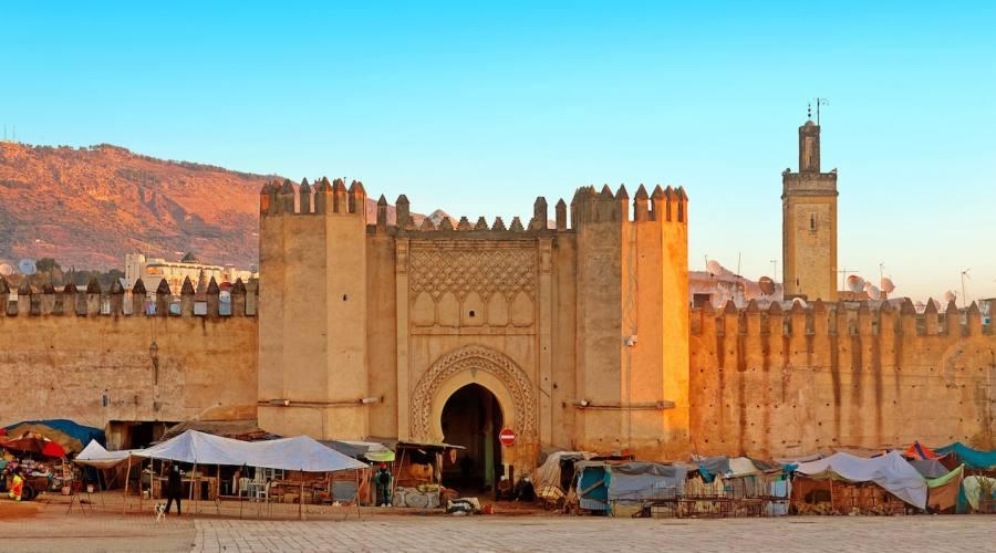 Fes Porta accesso Medina