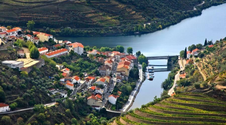 Pinhao e fiume Douro