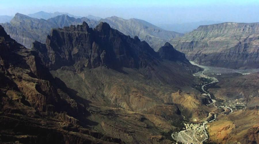 Hajar e le sue montagne
