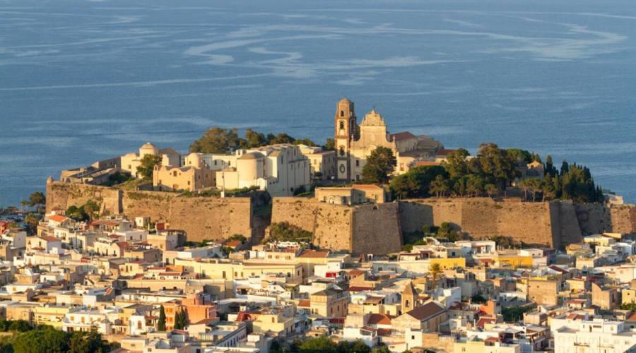 Vista panoramica di Lipari